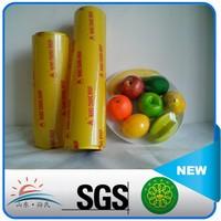 Plastic PVC stretch film,PVC cling film for food packing