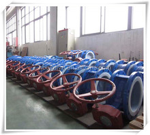 long life triple eccentric butterfly valve for Africa market