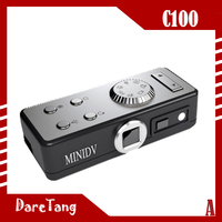 Factory Direct HD 12 Mega pixels HD 720P C100 user manual for mini dv with sound control function
