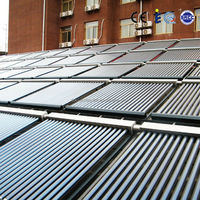 Direct Manufacture heat pipe aluminium alloy solar hot water collector prices,solar collector for sale