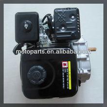 Motor 6.5hp con una reducción 2:1 y el embrague, por la mano del motor de gasolina, 26cc motor de gasolina,