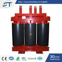 Classical Type Three Phase Electrical Equipment 2500Kva 10Kv Dry Distribution Transformer