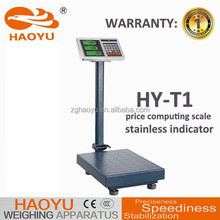 300KG luggage price weighing platform scale, weighing scale trays