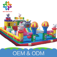 Hot Sale Outdoor Inflatable Bouncy Commercial Used Kids Fun Inflatable Castles