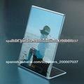 venta caliente papel precio acrílico simple y barata o soporte de exhibición de fotos