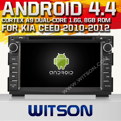 WITSON Android 4.4 CAR AUDIO SYSTEM FOR KIA CEED 2010-2012 Cortex A9 WiFi 3G 8GB Inand CAPACTIVE Screen