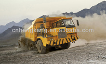 good quality sino china cheap and innovation crazy 60 TON 4 *2 heavy duty off road mining dumper truck