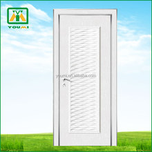 environmental Aluminium seal Sliver solid wooden door YM-S053