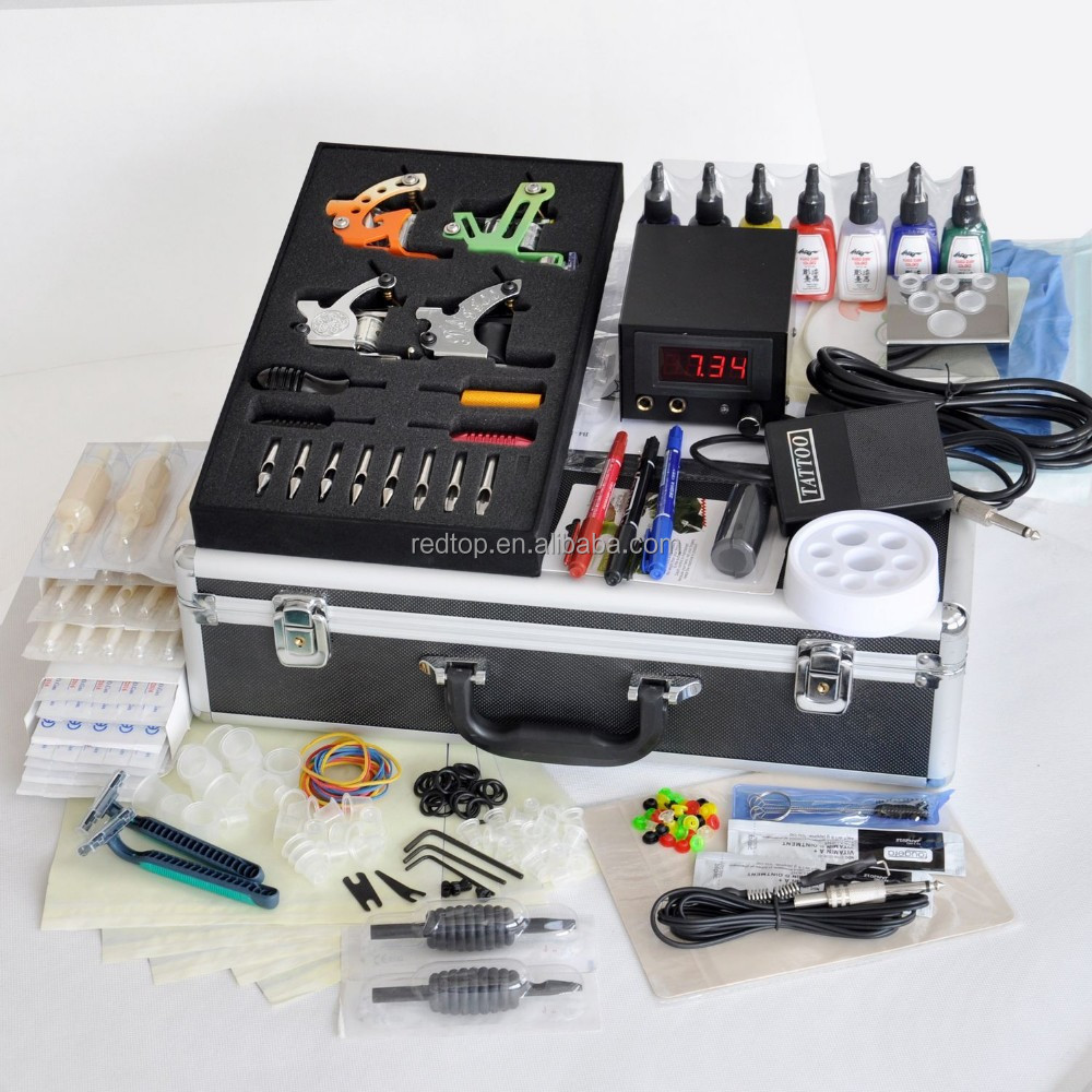 Professional tattoo kits pictures to pin on pinterest for Best tattoo starter kit