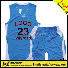 Accept sample order basketball shirts & shorts,sports wear custom basketball,ncaa basketball uniform design