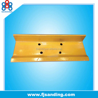 types of chasis parts excavator grouser shoe, grouser track shoe