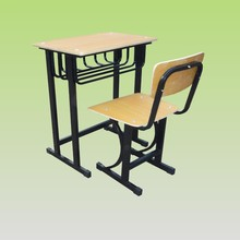 Chinese hot sale desk and chairs for school high class furniture