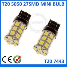 Turning light 7440 7443 T20 27SMD 5050 LED Led AUTO Reverse Light automotive car light