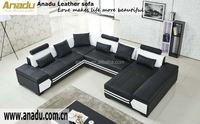 2015 modern corner sofa fashion living room sofa set corner italy leather sectional sofa in living room furniture guangzhou