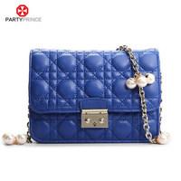2015 Partyprince Evening Brand Dark Blue Women Bags Handbags
