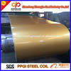 Hot dip galvanized prepainted steel coils