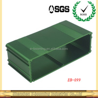 green color high quality aluminum extrusion enclosures 170*54mm /high qualified aluminum extrusion enclosures factory in china