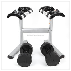 Multifunctional Home Gym Fitness Exercise 100Lbs Hand Weight, Adjustable 40kg Dumbbell Set