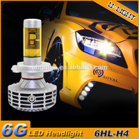 Super bright G6 car LED headlight h4 3000LM for motorcycle headlight conversion headlight bar