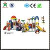 Guangzhou kids outdoor plastic play gym/fiberglass spray equipment/metal outdoor playground toys QX-B0116