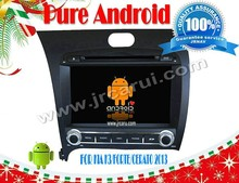 Android 4.4 car dvd player for KIA CERATO 2013 Telephone book car auto audio DVD navigation system,car dvd, gps,head unit