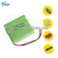 Ni-mh aaa 4.8v Rechargeable ni mh torch light rechargeable battery