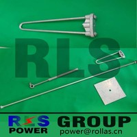hot dip galvanized stay rod/ Stay Equipment Complete