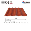 Popular colorful stone coated metal roofing
