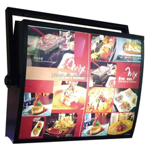 Menu rotating light box and led menu light box