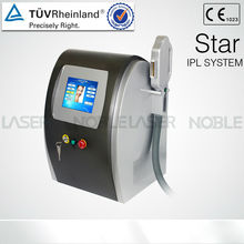 single pulse,high frequency SHR ipl hair removal machine With CE Approval