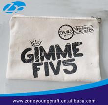Popular cotton zipper bags