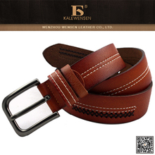 100% cowhide genuine latest leather belt for women