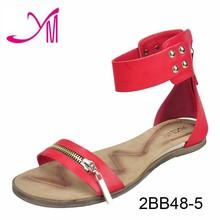 Fashion black casual women high heel casual sandals