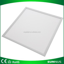 600x600 mm Suspended led panel 60x60 cm SMD 3014 40W ceiling lighting for Office focos lamp 3600lm white 4500K by DHL 12pcs/lot