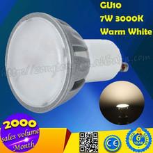 de alta calidad al aire libre 7w gu10 luz spot led bombilla