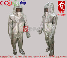 Factory direct sale 2015 New Product Aluminized fire proximity suit