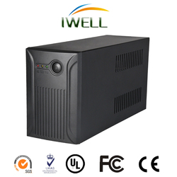 Long Time Backup power 1000VA 600w Home UPS 24V with built-in lead acid batteries