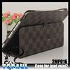 2015 new fashion minion tartan pattern folding protective cover case for apple ipad 2 3 4
