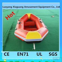 Popular in USA summer water play toys inflatable boat fishing boat