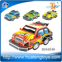 Funny DIY Racing Car Fancy Toys 3D Puzzle Used Paper and Foam