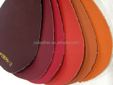 small order many colors woven backing stock pu leather for sofa furniture