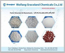 chemical red and black Red Phosphorus Flame Retardant Masterbatch for plastic