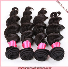 Factory supply 70 300g excellent New loose wave human hair weave /loose wave