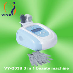 Hot and Cool Massager 3 In 1 Beauty Used Spa Equipment