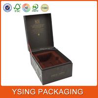 Custom Luxury Paper Hinged Lid Wine Box