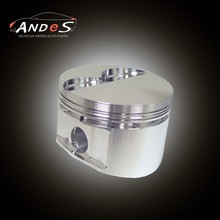 Custom Aluminium alloy 72mm pistons and piston Rings FOR opel c20xe forged pistons