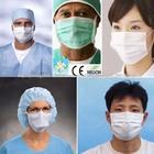 Máscara de tecido Descartáveis Médicos Três camadas Máscara Fábrica Na China