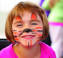 Holloween Makeup Face Paint and Body Paint For Kids