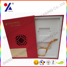 Chino ventana de celosía cajas de papel / diseño personalizado cajitas de papel para regalos / retail jewerly diseño personaliza