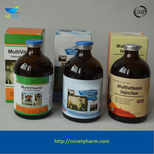 Best weight gain Vitamin AD3E injection /animal injection 10ML 50ML 100ML